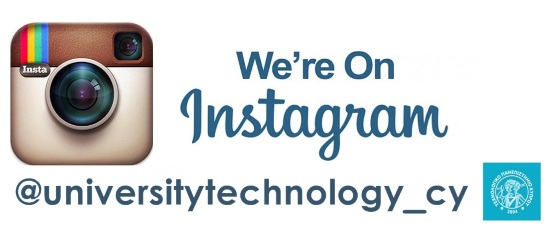 We are on instagram! @cut.ac.cy